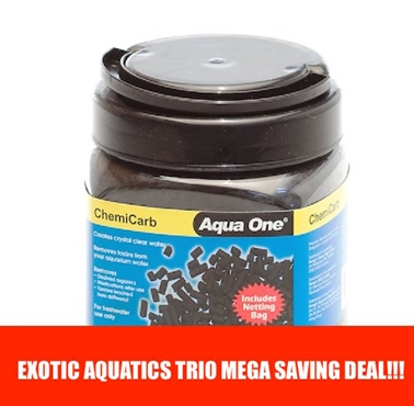 Aqua One ChemiCarb Trio Deal
