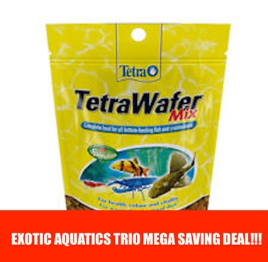 Tetra Pleco Wafer Mix Trio Deal