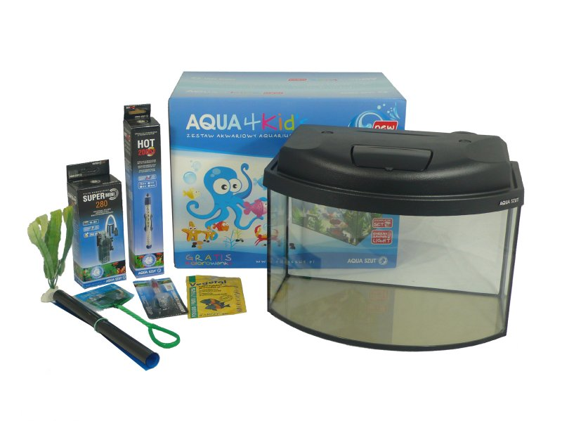 Aquarium Products Aqua4kids Tropical Starter Aquarium 25l
