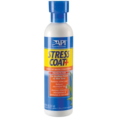 Aquarium maintenance api stress coat 473ml for How to make tap water safe for fish without conditioner