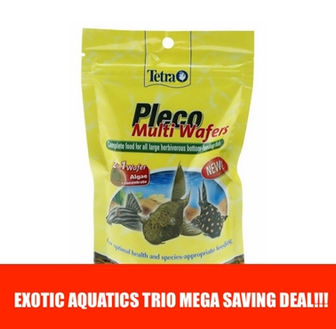 Tetra Pleco Multi Wafers Trio Deal